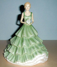 "Royal Doulton Cherished Moments Petite Figurine Sentiments HN5823 7.5""H New - $118.90"
