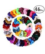 ZZICEN Hair Scrunchies Velvet Elastic Hair Bands Scrunchy Hair Ties Rope... - $13.32