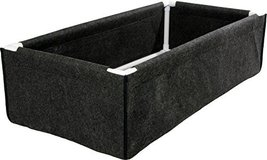 Hydrofarm HGDPB2X4 Dirt Pot Box, 2x4, Black - $68.21
