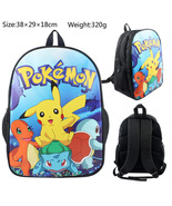 Pokemon go back to school bags children shoulder daypack backpack for kids 1 thumbtall