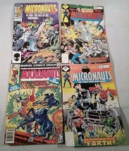 4 VINTAGE ISSUES MARVEL COMICS GROUP THE MICRONAUTS 1979 (#2 #3) 1981 1984 - $25.73
