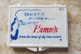 Hamm's Brewery advertising sewing box hamm's bear,land of sky blue waters - $14.25