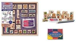 Melissa & Doug Stamp a Scene Fairy Garden Set +FREE  Bonus Stamp Pad - $29.65
