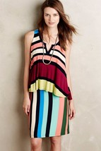 NWT ANTHROPOLOGIE LAYERED DAVINA DRESS by MAEVE S - $50.99