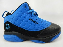 AND1 Bankster Size 2 M (Y) EU 33.5 Youth Kid's Basketball Shoes Blue BYAN28ES036