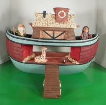 HOLY HERD Noah's Ark with Ramp and 4 Figures Character Collectibles - $77.17