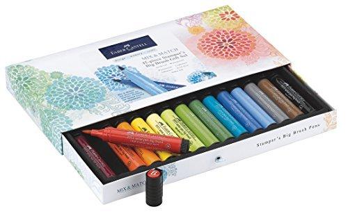Faber Castell Stamper's Big Brush Pen Gift Set - 15 Big Brush Pitt Artist Pens