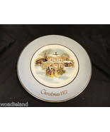 Wedgwood for Avon 1977 Christmas Plate Carolers in the Snow - $9.99