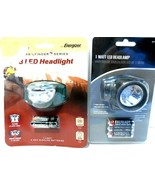 Lot of 2 Headlamps Energizer & Eveready New...see photos! - $15.46
