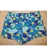 Gymboree Mix N Match Blue Flower Floral Knit Shorts Size M Medium 7-8 7 8 - $15.76