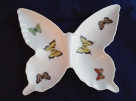 Vintage Papillon Japan Fine China Butterfly Shaped Nut Dish Candy Trinke... - $14.01