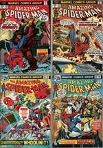Lot of 4 Amazing Spider-Man Comics #139, 152, 155, 156 (High Grade) - $83.74