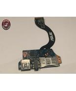 Asus Zenbook UX31A  Ultrabook USB Audio Jack Card Reader Board W/Cable I... - $60.58