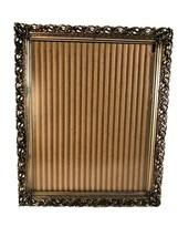 Vintage Hollywood Regency Gold Filigree Metal Picture Frame LARGE 11x9.75 - €12,78 EUR