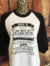 Dance mom long sleeve shirt, raglan, women's baseball shirt, dancer, dan... - $15.99+