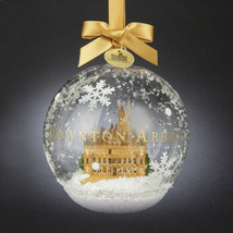 Collectible Downtown Abbey-Christmas Ornament Glass Ball w/Abbey Scene H... - $22.79