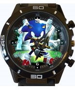 Sonic Hedgehog New Gt Series Sports Unisex Gift Watch - £27.00 GBP
