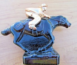 Vintage AVON Pony Express collectible decanter bottle unused full condition - $13.98