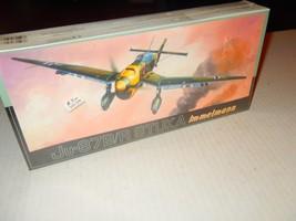 VINTAGE FUJIMI- JU-87B/R STUKA IMMELMANN 1/72ND  PLASTIC MODEL KIT -- NE... - $20.57