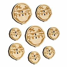 Occupation Military Soldier Icon Wood Buttons for Sewing Knitting Croche... - $9.99