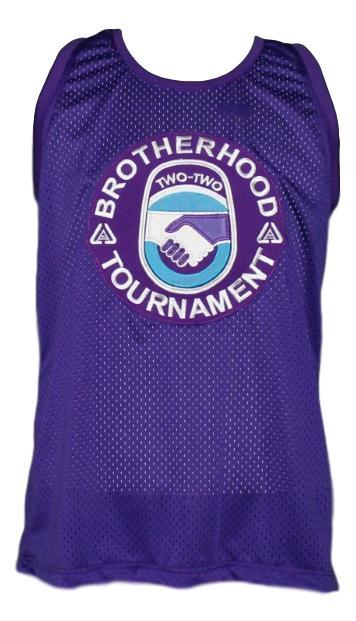 White Men Can't Jump Brotherhood Tournament Basketball Jersey Purple Any Size