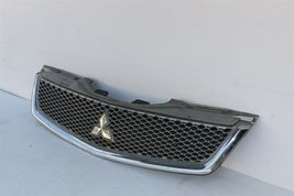 09 10 11 12 Mitsubishi Galant Front Upper Radiator Hood Grill Mesh Chrome image 3