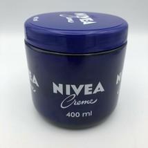 Nivea Creme 400ml - 13.5oz Glass Jar Moisturizing All Over Thick Cream Mexico  - $23.74