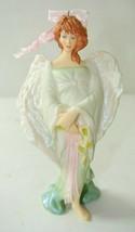 "QXG4375 Hallmark Keepsake 2005 Angel Of Grace *Breast Cancer Angel"" - $13.85"
