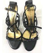 Lauren Ralph Lauren Womens High Heels Gold Size 7.5 - $34.64