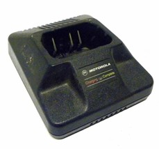 MOTOROLA HTN9630B 13.8V @ 1.5AMP 1-HOUR RAPID CHARGER W/ POWER SUPPLY 25... - $19.99