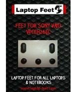 Laptop feet for Vaio VPCEH26EC compatible kit (5 pcs self adhesive) - $11.63