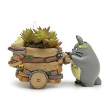 Flower Pot Ceramics Cartoon Styles Mini Pots Plant Succulent Garden Home... - $263,64 MXN