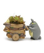 Flower Pot Ceramics Cartoon Styles Mini Pots Plant Succulent Garden Home... - €12,35 EUR