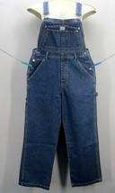 CALVIN KLEIN JEANS Women's Size (MED) Blue Denim Boot Cut Bib Overalls L... - $71.08