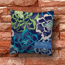 Vera Bradley Floral Patterns Throw Pillow Case Decorative Cushion Cover - $11.90