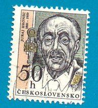 1981 Czechoslovakia Used Postage Stamp-Juraj Hronec 1981 (Scott 2349) - $1.99