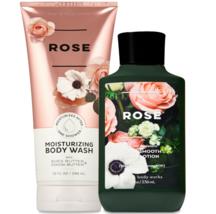 Bath & Body Works Rose Body Lotion + Moisturizing Body Wash Duo Set - $31.95