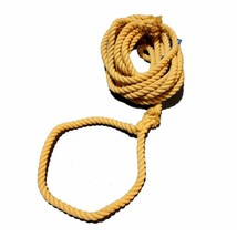WORKOUTZ 50FT POLYESTER TUG OF WAR ROPE WITH CENTER FLAG AND LOOPED ENDS - $78.21