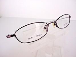 MODO TITANIUM Mod. 1066 (MPLUM) Matt Plum 48 x 18 138 mm Eyeglass Frames - $24.70