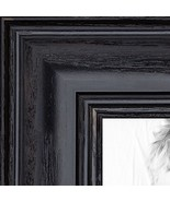 ArtToFrames 10x24 inch Black Stain on Solid Red Oak Wood Picture Frame, ... - $60.56
