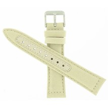 Genuine Hamilton 20mm Khaki Beige Canvas Strap Watch Band ''H600684123'' - $70.00