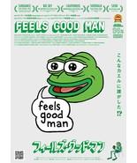 Feels Good Man Poster 2020 Pepe the Frog Arthur Jones Art Print 24x36 27... - $10.90+
