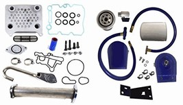 Ford Powerstroke EGR Complete Kit Coolant Filter Diesel 6.0L 2003-2007 C... - $253.95