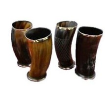 "Best Item Viking Drinking Horn Mug Game of Thrones Medieval 6"" Assorted ... - $64.35"