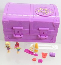 1996 Polly Pocket Vintage Lot Surf 'n Swim Island Bluebird Toys - $60.00