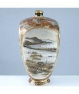 c1890 Yabu Meizan Meiji Japanese Satsuma Miniature Vase Imperial - $4,581.25