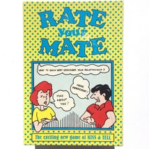 Vintage Rate Your Mate Exciting Game of Kiss & Tell 1994 AS IS missing t... - $8.89