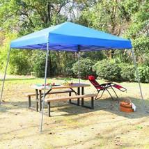 Phi Villa 12' X 12' Slant Leg Pop-Up Canopy, 81 Sq. Ft Of Shade, Instant... - $134.63