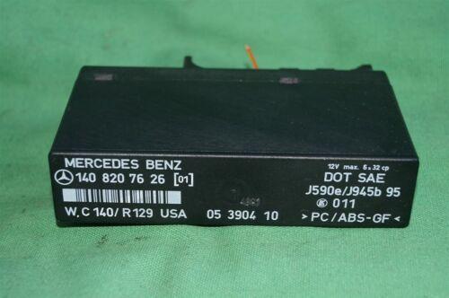 Mercedes Benz Hazad Relay Control Module 1408207626