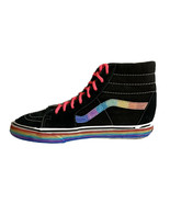 Vans SK8-Hi Hand Painted By Local Artist - Rainbow - Pride - Size Men's 9 - $51.97